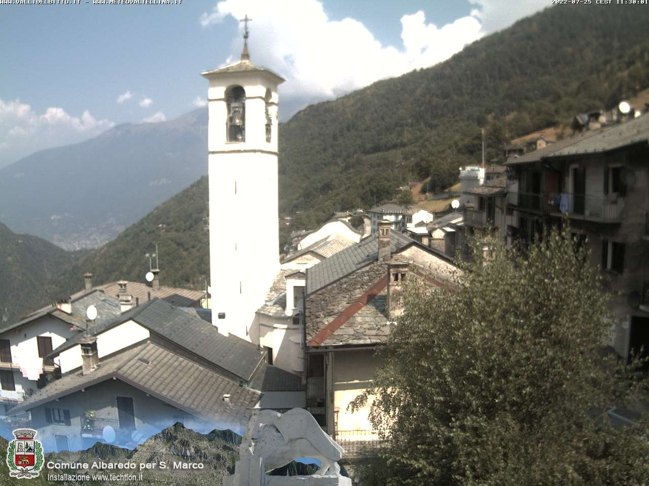 Webcam di Albaredo Per San Marco (SO)